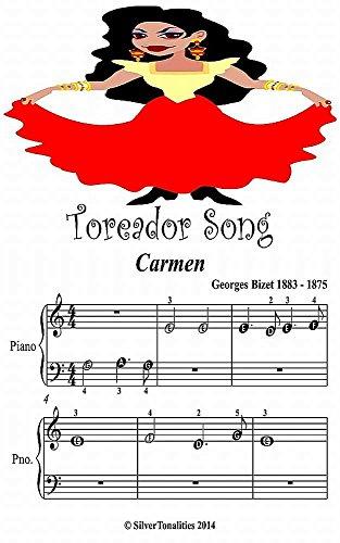 Toreador Song Carmen Beginner Tots Piano Sheet Music Toreador Sheet Music