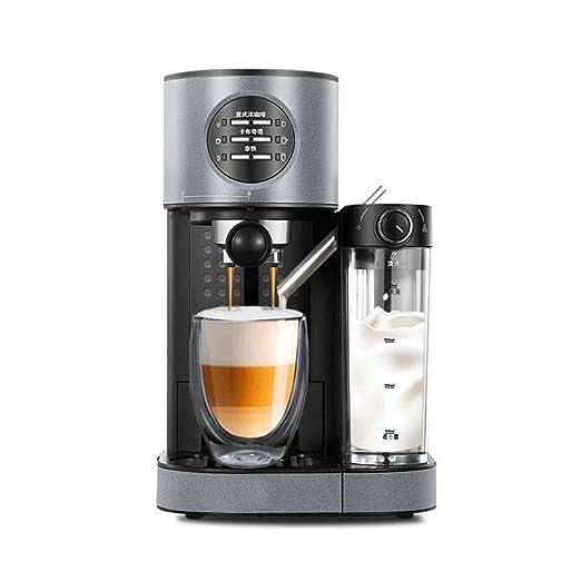 DWLXSH Acero inoxidable Cafetera, inteligentes cafetera con modo ...