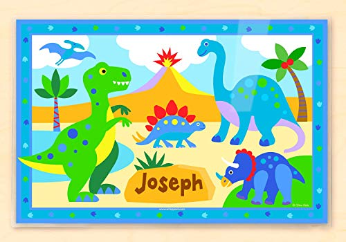 Olive Kids Dinosaur Personalized Placemat