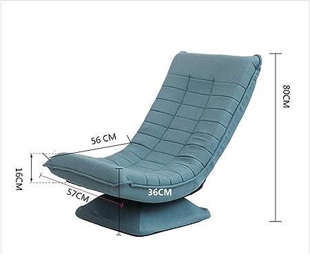 Amazon.com: Silla Lunar Ocio sofá perezoso plegable lavable 360 ...