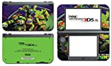 Teenage Mutant Ninja Turtles TMNT Leonardo Leo Michaelangelo Donatello Raphael Cartoon Movie Video Game Vinyl Decal Skin Sticker Cover for the New Nintendo 3DS XL LL 2015 System Console