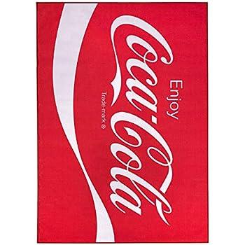 Amazon Com Floordecor Usa Coca Cola Enjoy Logo Red Non
