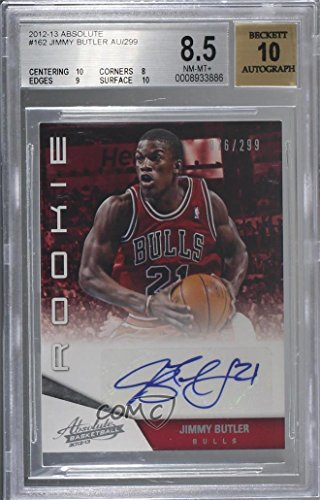 (Jimmy Butler Graded BGS 8.5 NM-MT+ #76/299 (Basketball Card) 2012-13 Absolute - [Base] #162)