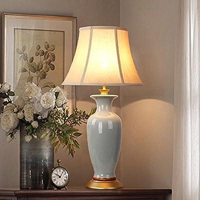 TIAMO Lámpara de mesa de cerámica, mesa de comedor, 66.5cm ...