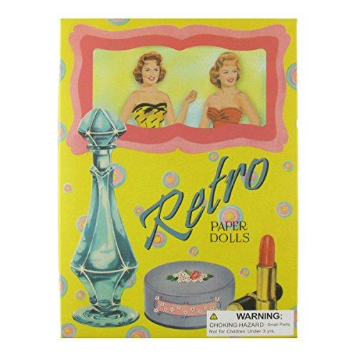 TreasureGurus, LLC 1950's Vintage 50's Style Retro Paper Dolls Set