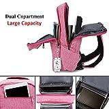 Laptop Backpack,Winblo 15 15.6 Inch College Backpacks Lightweight Travel Daypack - Pink