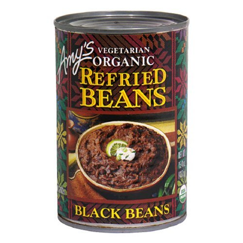 Amy's Organic Refried Black Beans, 15.4-Ounce Cans ( Value Bulk Multi-pack)(PACK OF 36) by Amys