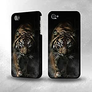 Apple iPhone 4 / 4S Case - The Best 3D Full Wrap iPhone Case - Bengal Tiger