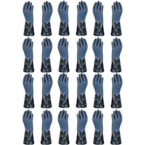 Atlas 720 Dipped-Nitrile Blue Chemical Resistant Small Work Gloves, 12-Pairs by ATLAS (Image #3)