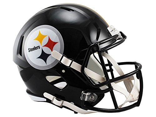 (Riddell NFL Pittsburgh Steelers Full Size Replica Speed Helmet, Medium, Yellow)