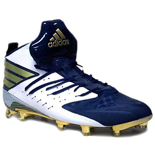T-shirt Da Calcio Adidas Mens Sm Freak X Kelvar Cool Navy / Oro Metallizzato / Bianco
