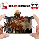 Mobile Game Controller, Sensitive Shoot and Aim Buttons for PUBG/Fortnite/Knives Out/Rules of Survival, Phone Game Joystick, Touch Screen Rocker for Android/IOS (Buttons and Rocker)