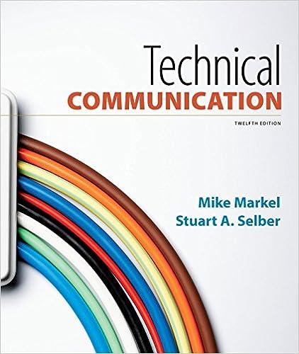 technical writing and professional communication pdf