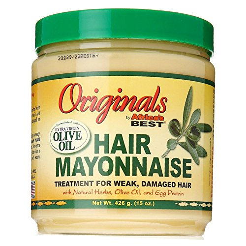 Conditioning Hair Mayonnaise - Africa's Best Organics Hair Mayonnaise 15 oz (Pack of 6)