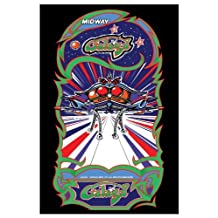 Galaga Video Arcade Game Poster Print 24 X 36 by Arcade