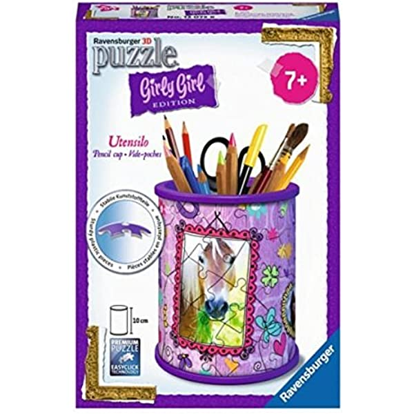 Ravensburger Pencil Cup Animal Trend Jigsaw Puzzle 54 Piece