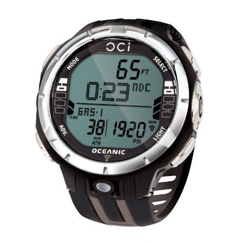 Oceanic OCi Wireless Dive Watch Computer - Watch Only For Scuba Diving - Titanium