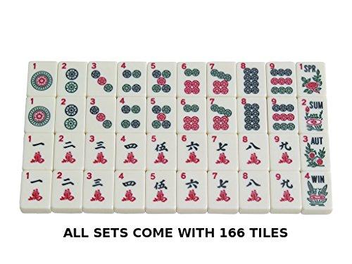 American Mahjong Set By Linda Li Black Paisley Soft Bag