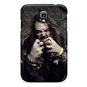 Scratch Protection Hard Cell-phone Cases For Samsung Galaxy S4 With Custom Realistic Coal Chamber Band Skin LauraAdamicska