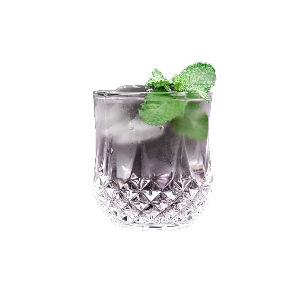 MIAO. Copa de Whisky clásica Hecha a Mano, Copa de cóctel Tallada ...