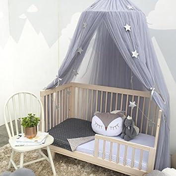 Hochwertig Rund Baby Bett Moskitonetz Mesh Dome Zum Aufhängen Baumwolle Betthimmel  Play Zelt Betten Für Kinder Spielen