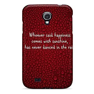 New Style Case Cover KMV2211GXWJ Rain Brings Hapiness Compatible With Galaxy S4 Protection Case