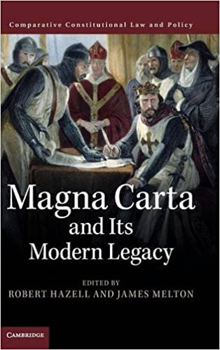 Book Magna Carta and its Modern Legacy (Comparative Constitutional Law and Policy)