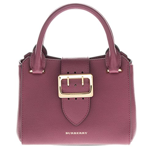 Burberry Small Buckle Tote in Grainy - Bag Buckle Burberry