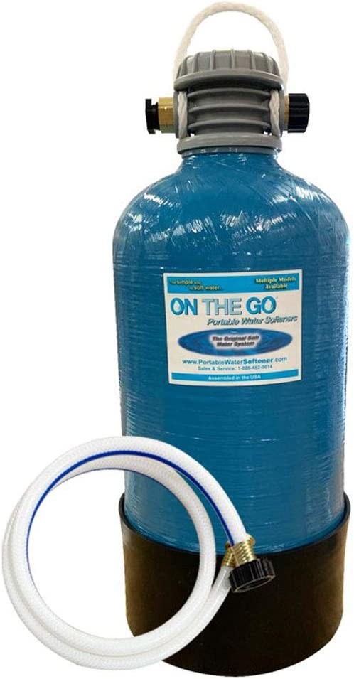 On The Go OTG4-VM-DBLSOFT Portable Large Compact  RV Water Softener
