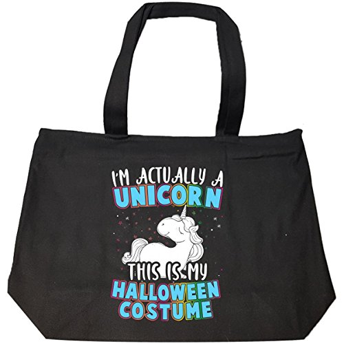 I'm Actually A Unicorn This Is My Halloween Costume – Tote Bag With Zip