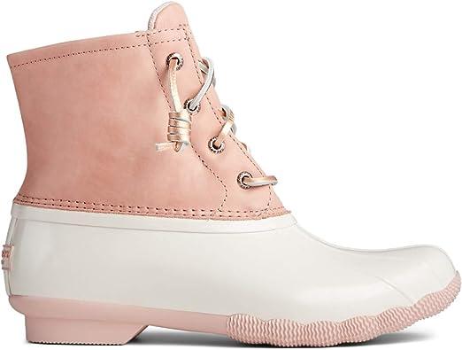 Saltwater Rain Boot Pink/TAN