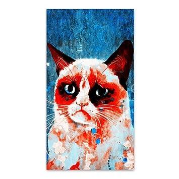 Funny Grumpy Cat Sour-faced Fashion Seamless Microfiber Headwear ... 4c5820ebfa25