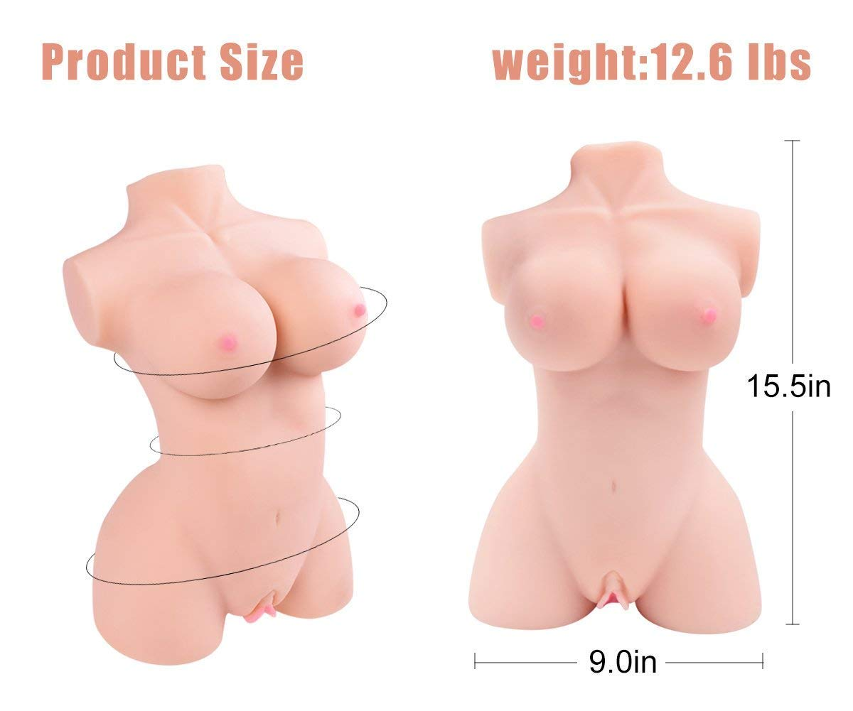 Lifelike love doles for Man 100% Safe Material -TPE Dolls with 2 Opening toys for men Realistic Adults Toys TPE Doll for Men Bedroom Self Pleasure by Wamerman (Image #7)