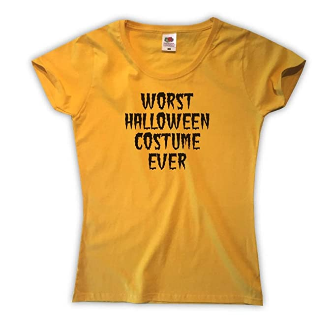 Worst Halloween Costume Ever Camiseta para Mujer: Amazon.es: Ropa y accesorios