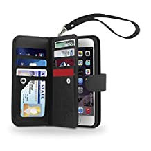 iPhone 6s / 6 Case, Gear Beast iPhone 6s / 6 Dual Wallet Case Slim Protective PU Leather Case Folio, 7 CARD SLOTS, 2 LARGE INNER POCKETS and Protective TPU Inner Case