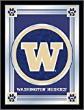 Holland Bar Stool Company NCAA Washington Huskies Logo Mirror, 17 X 22-Inch