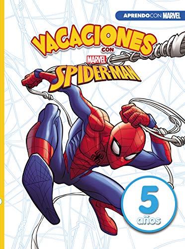 Vacaciones con Spiderman. 5 años (Aprendo con Marvel) por Marvel