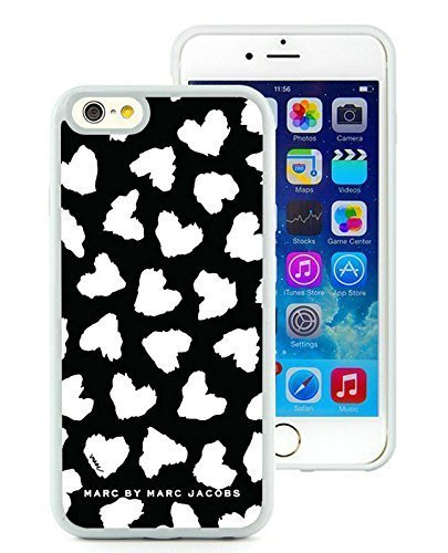 Iphone 6 Cases Custom Design Marc by Marc Jacobs 17 Cell Phone Tpu Cover Case for Iphone 6 4.7 Inch White