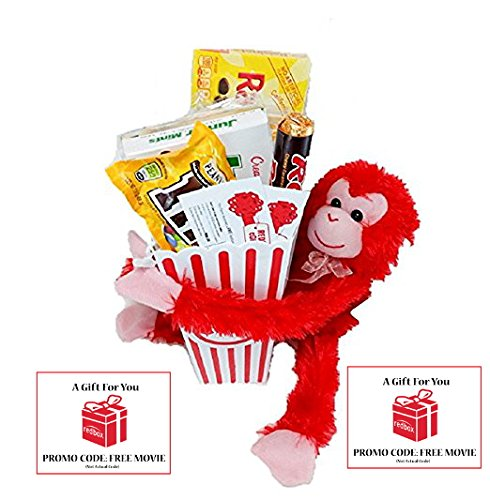 Basket Popcorn Stuffed Hanging Rentals
