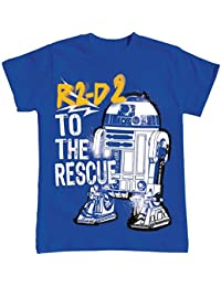 Boys R2D2 to the Rescue Graphic T Shirt