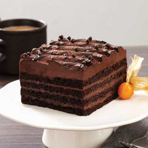 The Original Cakerie Seriously 6 Cut Choc Layer Cake, 179 Ounce -- 2 per case.