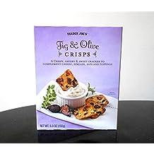 Trader Joe's Fig & Olive Crisps, Net WT. 5.3oz(150g)