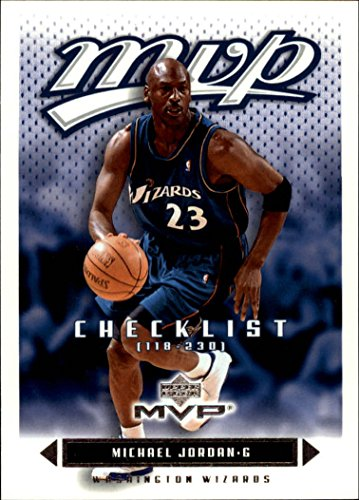 (2003-04 Upper Deck MVP #200 Michael Jordan CL Washington Wizards)