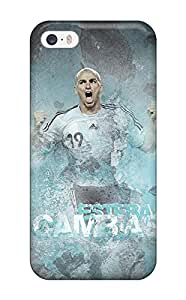 New Design Shatterproof AQyhgHM6204vGwaP Case For Iphone 5/5s (esteban Cambiasso)