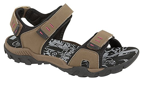 Ladies Summer Shoes and Sandals PDQ - Taupe Synth.Nubuck, Ladies UK 5 / EU 38