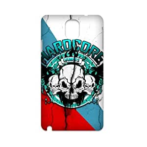 Generic Custom Unique Otterbox You deserve--Blue Skull Plastic Case Cover for SamsungGalaxy Note3 N9000 (3d)