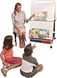 Best-Rite Baby Folding Easel With Tubs and Tub Rack, 57''H x 30.5''W x 34''D, 784T