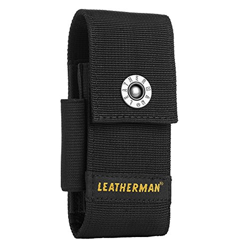 LEATHERMAN - Premium Nylon Snap Sheath with Pockets Fits 4""