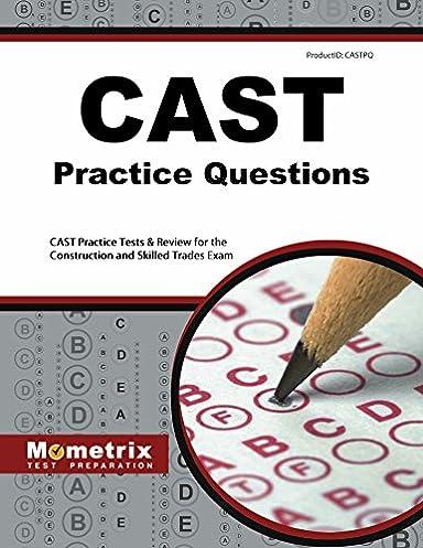 cast exam secrets study guide cast test review for the construction rh amazon com Area Study Guide Practice Cast Test Lineman
