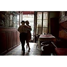 Buenos Aires La Boca, Tito the old tango dancer in a cafè.